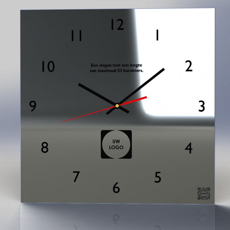 Mirror Clock C3-2020 (With your own logo)