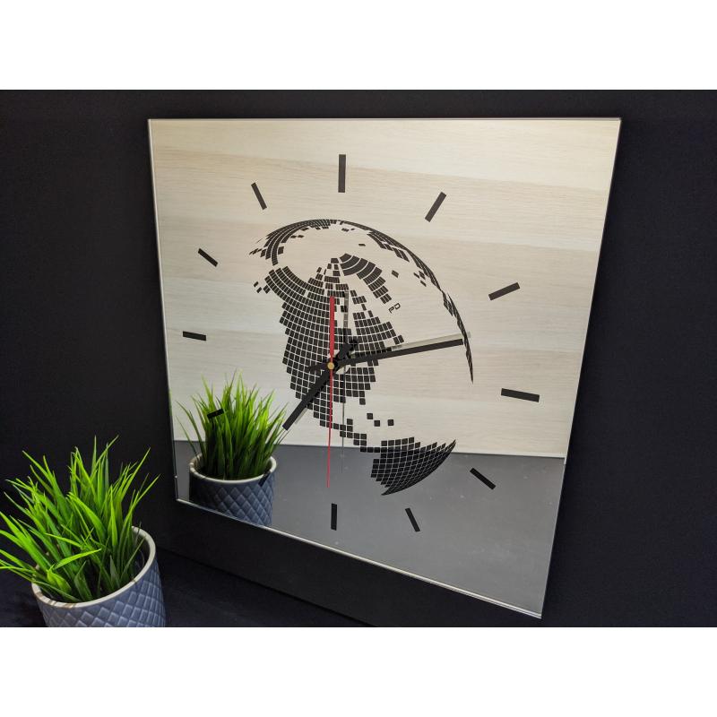 Mirror Clock 16-2020