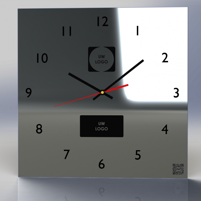 Mirror Clock C5-2020 (With your own logo)