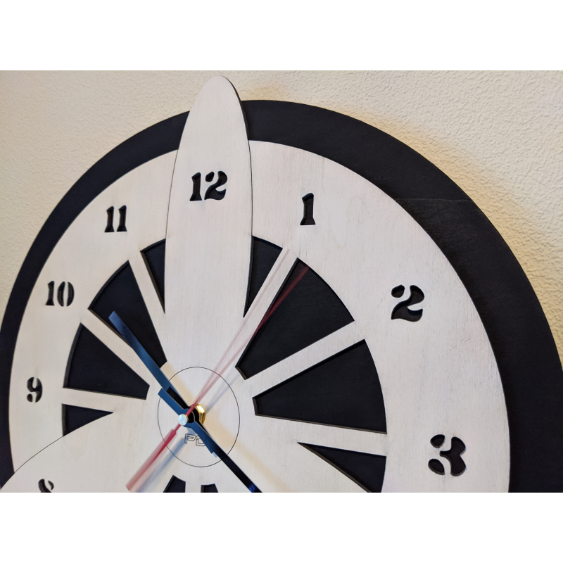 Wood Clock 26-2021