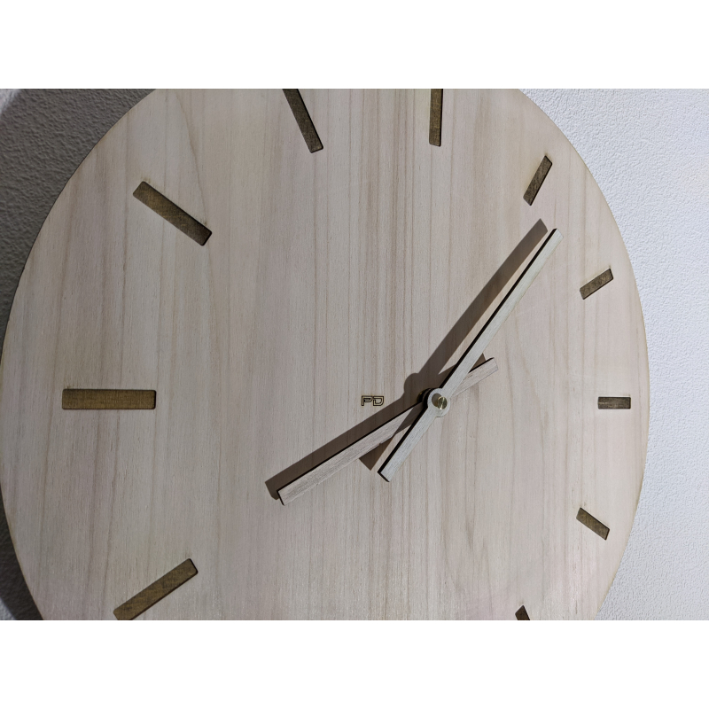 Wood Clock 28-2021