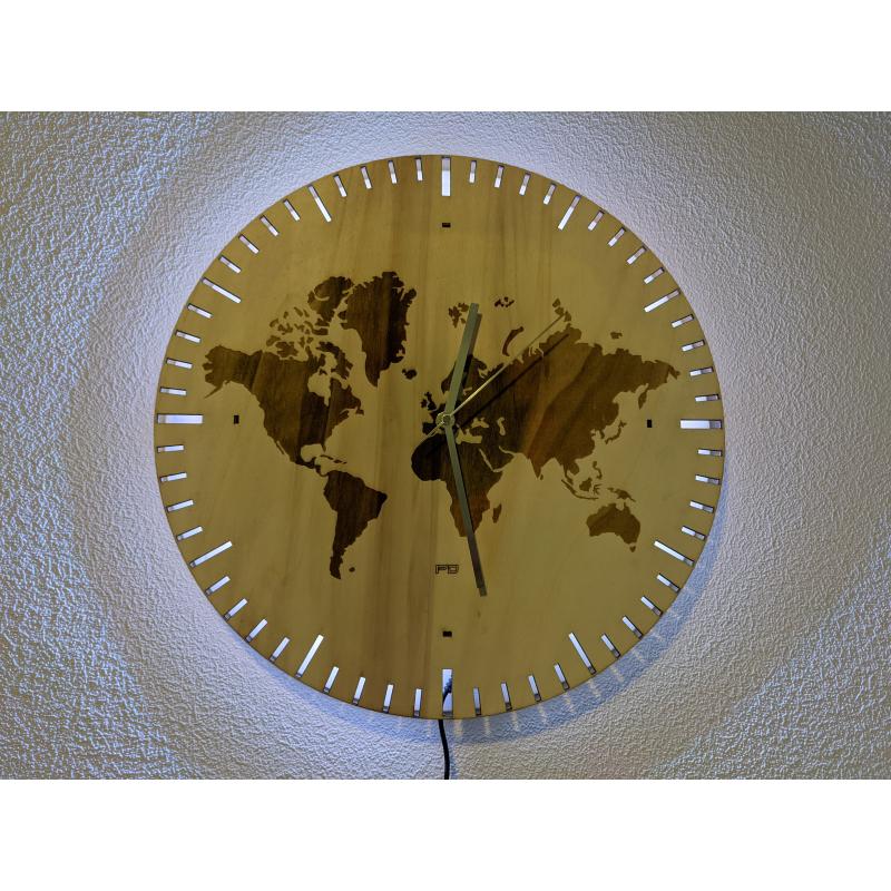 Wood Clock 30-2021
